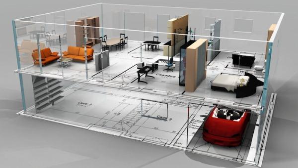 Разработка проектов под офисы, магазины, салоны